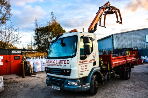 For large or heavy building products Jasonic and provide a fast delivery service